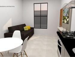 Casa para venda 66m² com 2 quartos em Dracena-SP